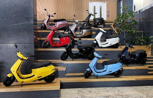 Ola Scooter S1 Showroom in Dehradun
